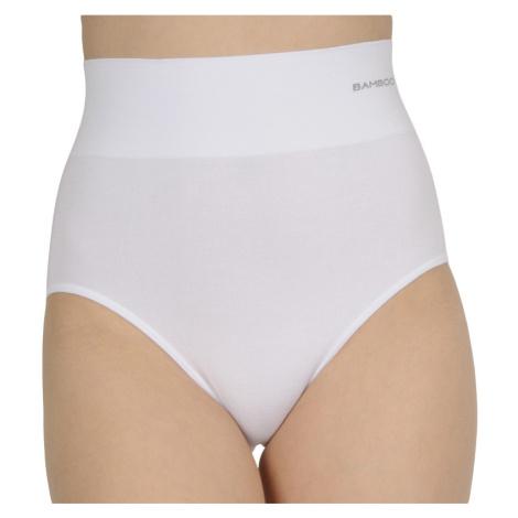 Dámské stahovací kalhotky Gina bambusové bílé (00040)