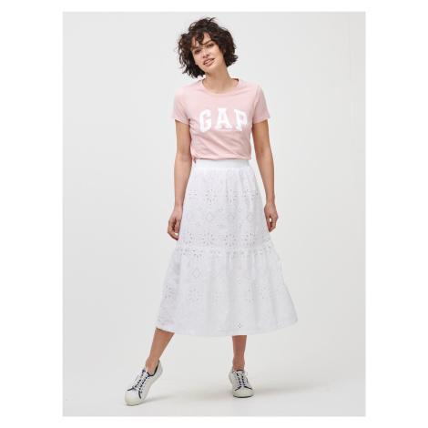 GAP bílé midi sukně