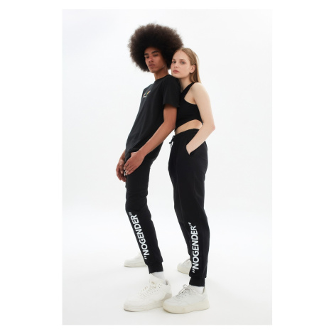 Trendyol Black Unisex Regular Fit Trousers