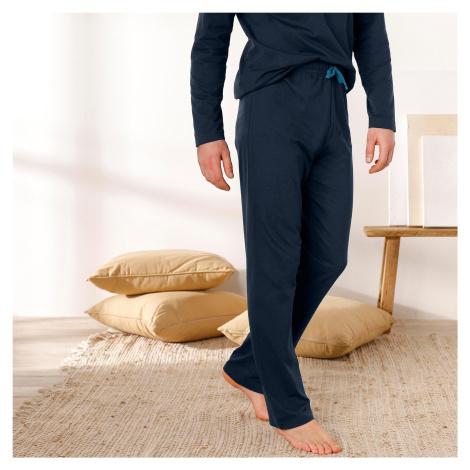Blancheporte Pyžamové kalhoty, námořnicky modré námořnická modrá
