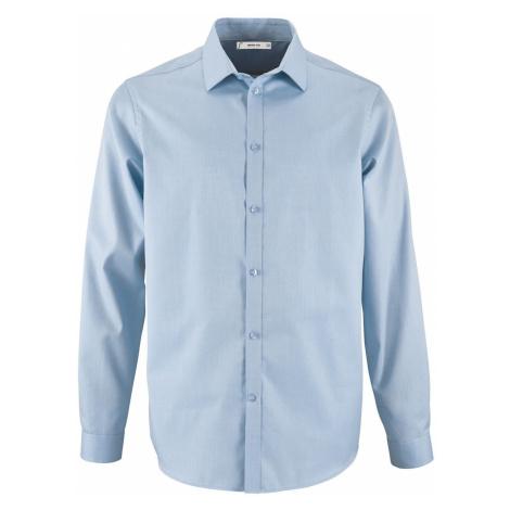 SOĽS Pánská košile s dlouhým rukávem BRODY MEN 02102220 Sky blue