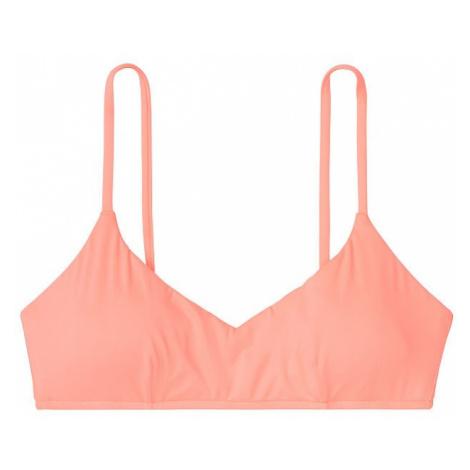 Victorias Secret horní díl plavek oranžový Bralette Bikini Top Victoria's Secret