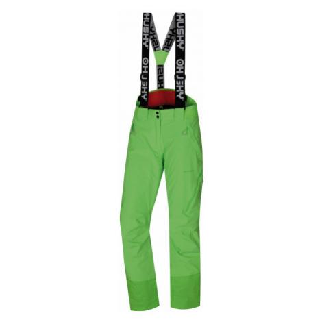 Dámské lyžařské kalhoty HUSKY Mitaly L neonově zelená