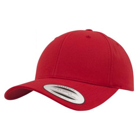 Curved Classic Snapback - red Urban Classics