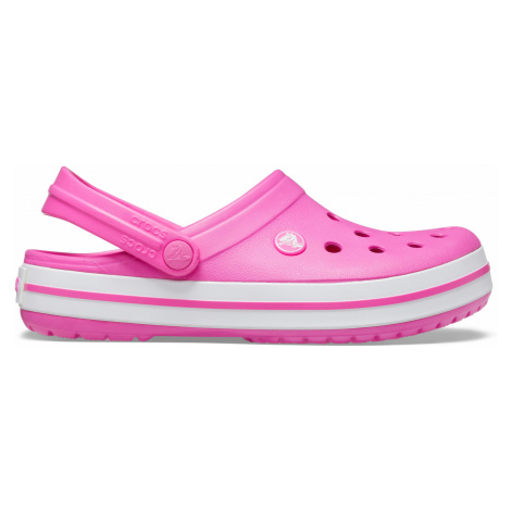 Crocs Crocband Electric Pink/White