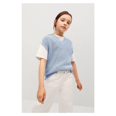 Mango Kids - Dětská vesta Vera 116-164 cm