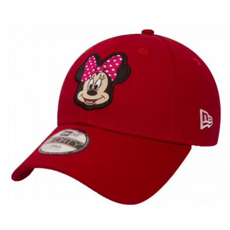 Dětská kšiltovka New Era 9Forty Youth Disney Patch Minnie Mouse Red