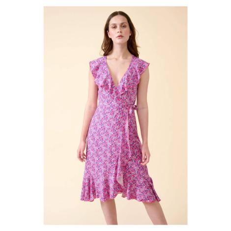 Květované šaty z viskózy Orsay