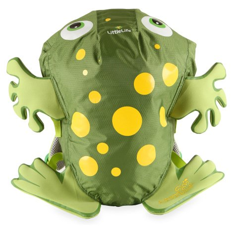 batoh LittleLife Animal Kids SwimPak - Green Frog