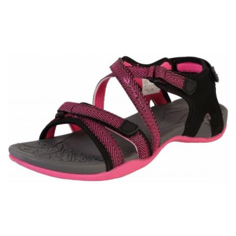 ALPINE PRO BRERA růžová - Dámská letní obuv