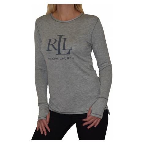Ralph Lauren dámské triko ILN21745 šedé - Šedá