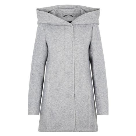 Vero Moda Curve Přechodný kabát světle šedá