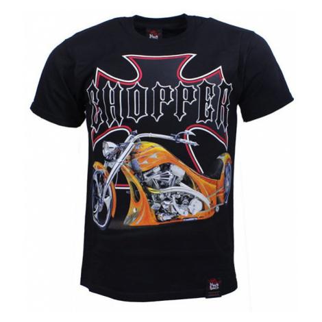 BLACK HEAVEN tričko pánské CHOPPER oboustranný potisk BLACK HAVEN