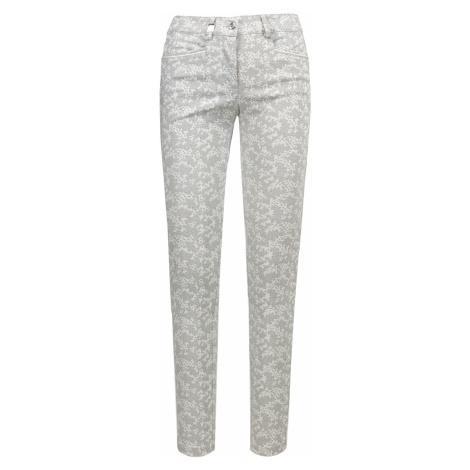 Kalhoty Chervo SALITA vzorkování šedá