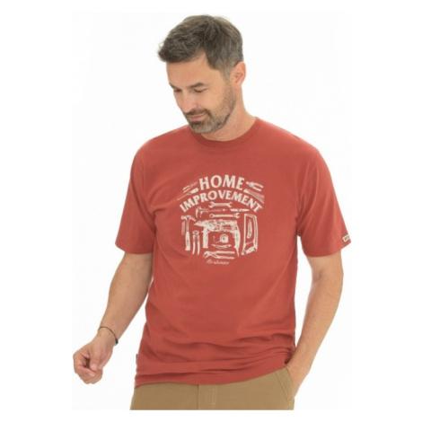 Pánské tričko BUSHMAN SIMS červená