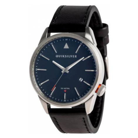 Quiksilver Timebox Leather Silver Blue Black XSKK