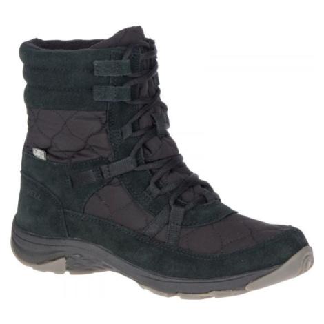 Merrell APPROACH NOVA MID LACE PLR WP černá - Dámské zimní boty