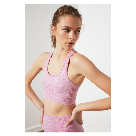 Trendyol Lilac-Assisted Seamless Sports Bra