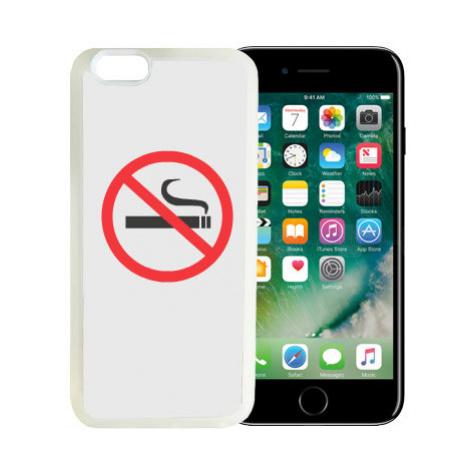 iPhone 7/8 kryt gumový soft Nekouřím