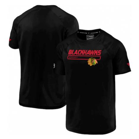 Pánské tričko Fanatics Rinkside Synthentic SS NHL Chicago Blackhawks