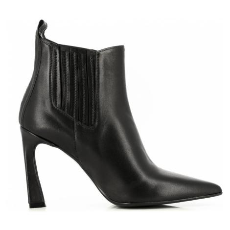 Kotníková Obuv Karl Lagerfeld Veneto Ankle Gore Boot - Černá