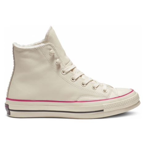 Converse Chuck 70 Street Warmer Leather High Top bílé 162434C