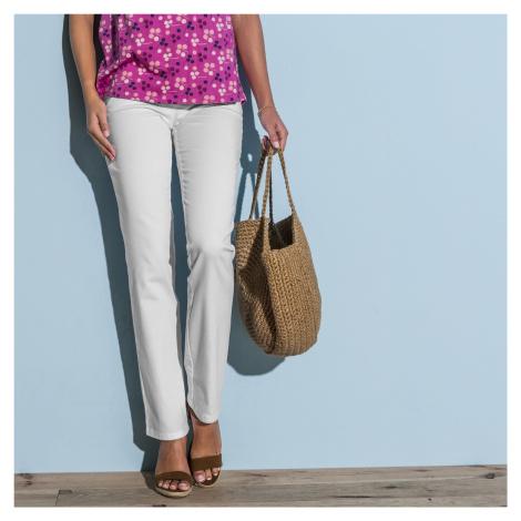 Blancheporte Zeštíhlující kalhoty bílá
