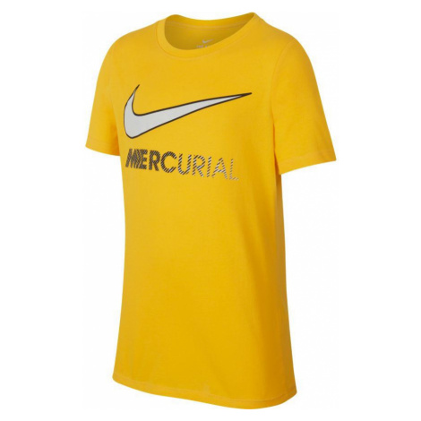 Dětské tričko Nike Dry Tee Boot Hook Neymar Žlutá