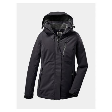Černá dámská voděodolná zimní bunda killtec