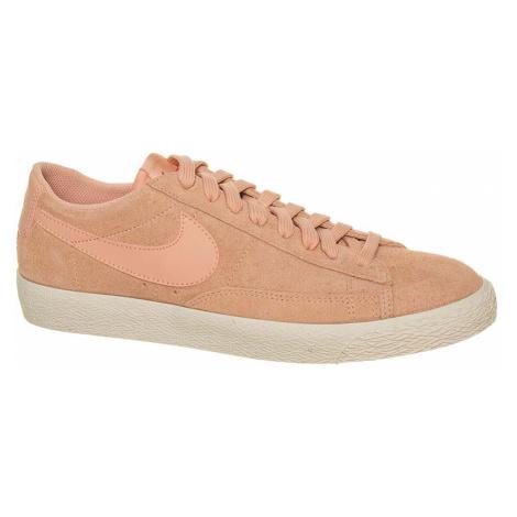 Nike Blazer Low kožené oranžové