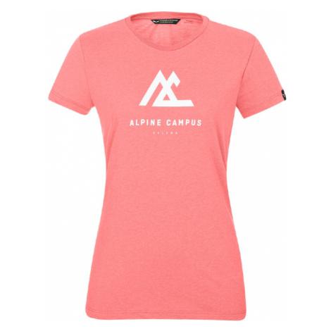 Dámské tričko Salewa Alpine Campus Dry S/S Pink