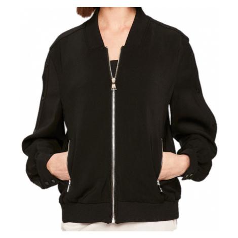 Černá bunda - KARL LAGERFELD