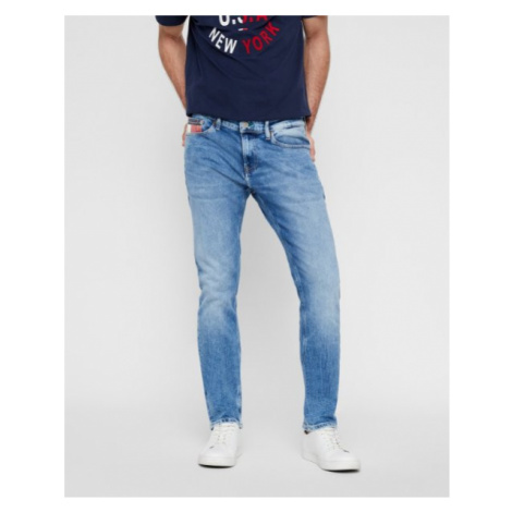 Tommy Hilfiger Tommy Jeans pánské modré denim džíny SCANTON SLIM