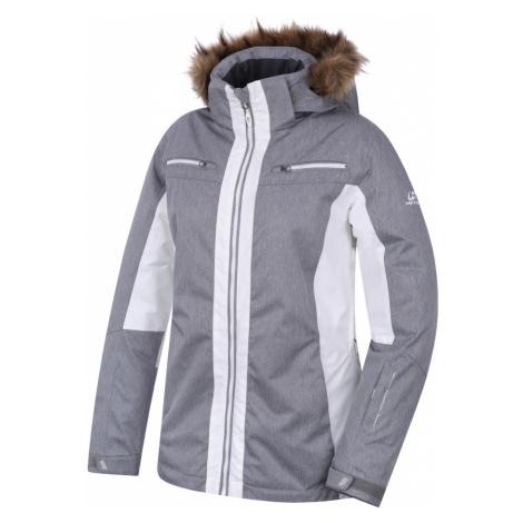 HANNAH Jill Dámská lyžařská bunda 217HH0019HJ03 Frost mel/bright white