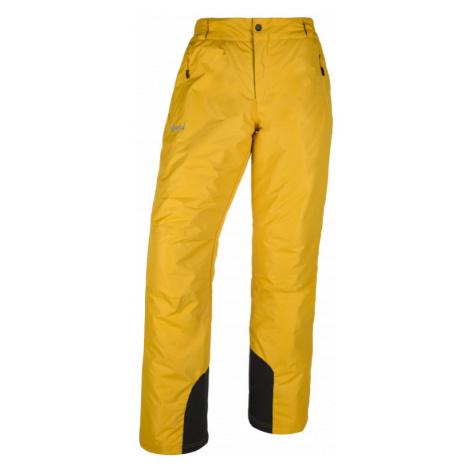 Kilpi Pánské lyžařské kalhoty Gabone žlutá