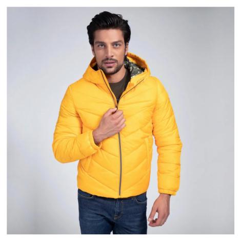 Guess pánská žlutá bunda