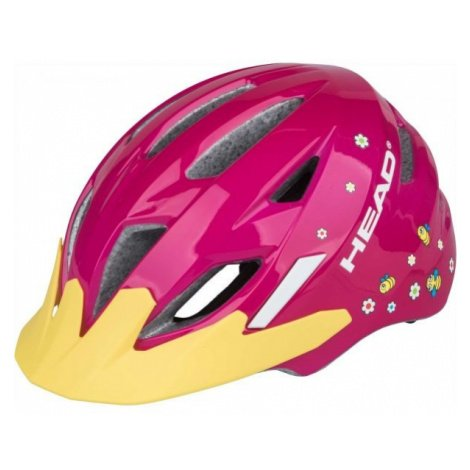 Head KID Y11A růžová - Dětská cyklistická helma