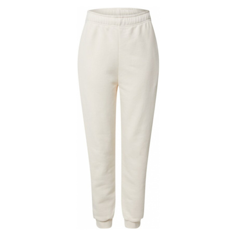 EDITED Kalhoty 'Riley' bílý melír