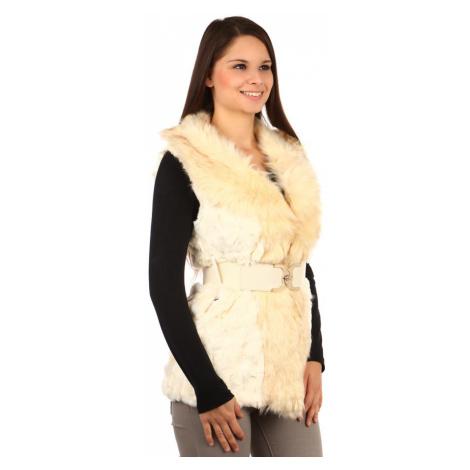 Dámská zimní kožešinová vesta