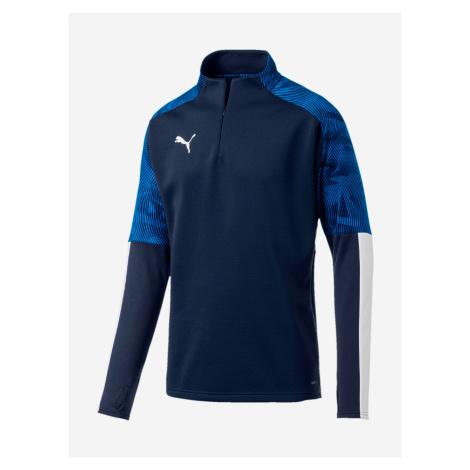Tričko Puma Cup Training Fleece Modrá