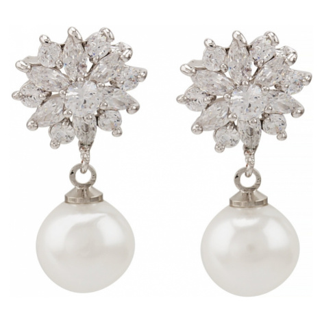 Linda's Jewelry Náušnice bižuterie Perla Shiny IN017