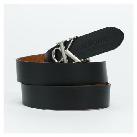 CALVIN KLEIN JEANS Mono Hardware Round hnědý / černý 90 cm