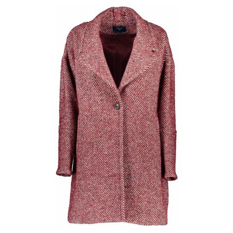 GANT kabát Barva: ROSSO
