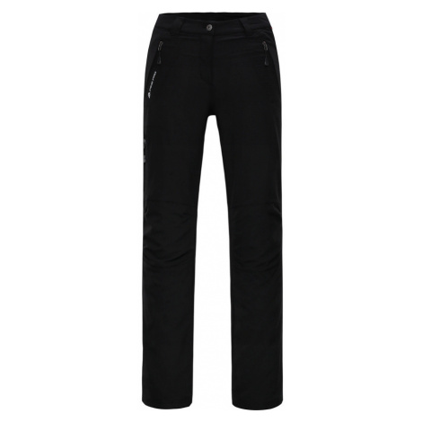 ALPINE PRO MURIA 2 Dámské softshellové kalhoty LPAH132990 černá
