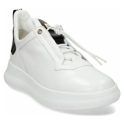 Bílé dámské kožené tenisky Högl