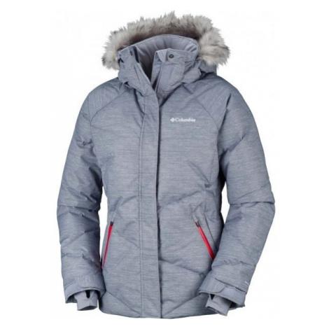 Columbia LAY D DOWN JACKET šedá - Dámská zimní bunda