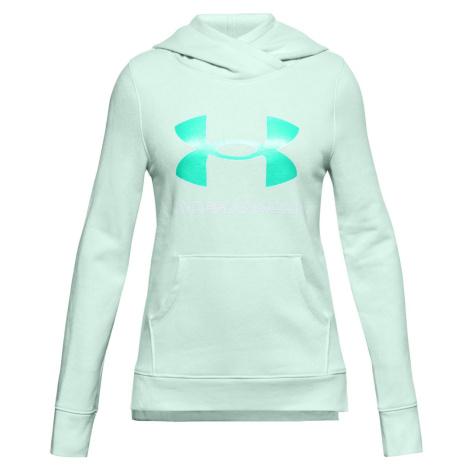 Mikina Under Armour Rival Fleece Logo Hoodie-BLU