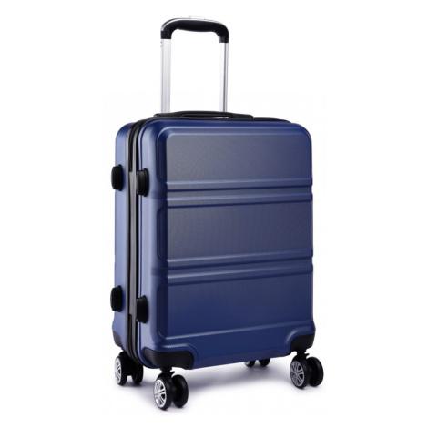 Modrý velký cestovní kvalitní kufr Kylah Lulu Bags
