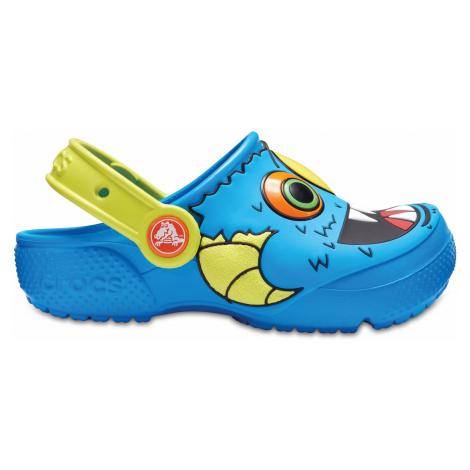 Crocs Crocs Fun Lab Clog K Ocean/Tennis Ball Green C5
