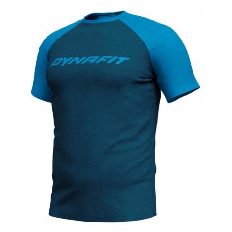 Dynafit triko 24/7 Drirelease M S/S TEE, modrá